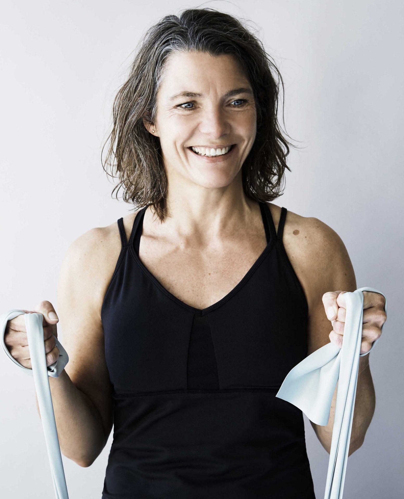 Heidi - Uddannet fysioterapeut - 25 års erfaring som idrætsinstruktør.