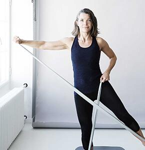 Motion på jobbet Sjælland, Træning med redskaber